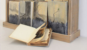 Installation art, Holocaust art, Book art, Mixed media Art, Trees in art, Art with a message, Symbolic art, Smithsonian art